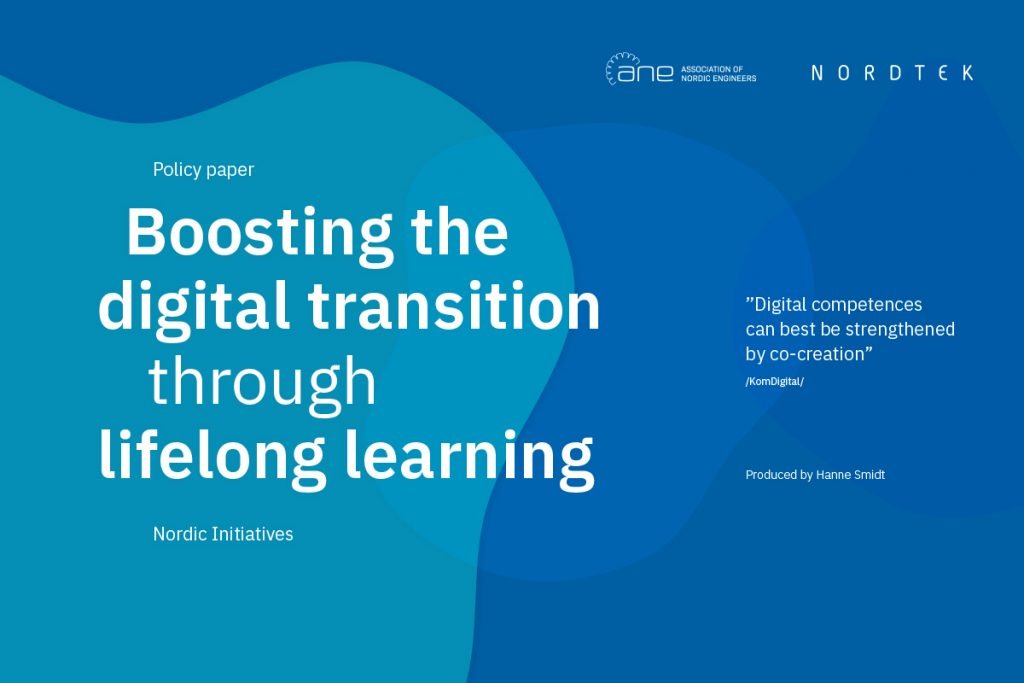 Policy paper: How do we boost the digital transition through lifelong learning?